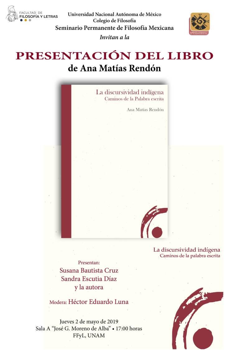 Libro Ana Matías